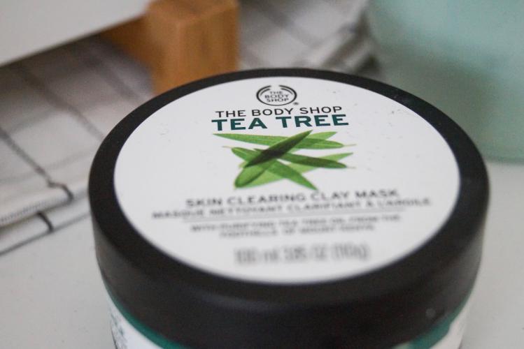The Body Shop Tea Tree Clay Mask